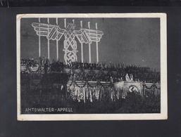 Dt. Reich AK Hitler Amtswalter-Appell Reichsparteitag 1934 - Historische Figuren