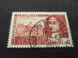 """70-79- Timbre Oblitéré N° 1623   """"louis Le Vau, Architecte   """"    0.25 - Francia"""