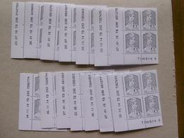 FRANCE 2013   No YT 4766  * *   MARIANNE DE CIAPPA ET KAWENA LOT DE 14  BLOCS DE 4 COIN DATE - Hoekdatums