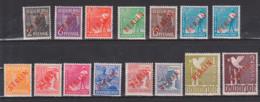 Berlin 21/34 Rotaufdruck * Mit Falz, 20 Pf Gepr. ** - Unused Stamps