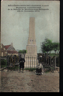 45, Mezieres Sous Bellegarde, Monument Commemoratif - Sonstige Gemeinden