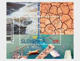 Slovenië / Slovenia - Postfris/MNH - Sheet Wereld Waterdag2019 - Slovenië