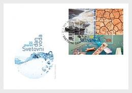 Slovenië / Slovenia - Postfris/MNH - FDC Sheet Wereld Waterdag2019 - Slovenië