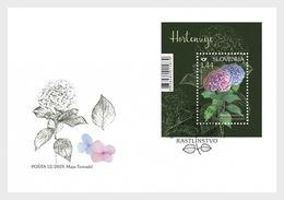 Slovenië / Slovenia - Postfris/MNH - FDC Sheet Flowers 2019 - Slovenië