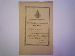 GP 2019 - 665  SEEZ  (Savoie)  :  Distribution Des PRIX   Petit Séminaire De Séez   1853   XXXX - Old Paper