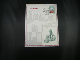 "BELG.1968 1444 FDC Phila Card (Liege)   : "" Arbeidsongevallen / Accidents Du Travail  "" - FDC"