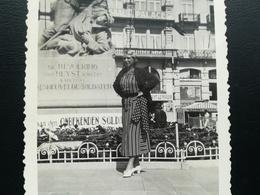 LITTORAL HEYST HEIST  BLANKENBERGE FLANDRE BELGIQUE PLAGE MER UN LOT DE 35 PHOTOS  COUPLE ESSENTIELLEMENT ANNÉES 1930 - Lieux