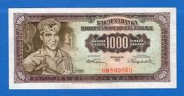 Yougoslavie  1000 Dinara    Sup  Neuf    1955 - Yugoslavia