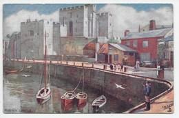 Rushen Castle - Tuck Oilette 7473 - Isle Of Man
