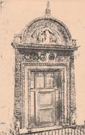 Cartolina - Postcard - Non  Viaggiata - Not  Sent  -  Ancona, Portale - Chiesa Della Misericordia. - Ancona