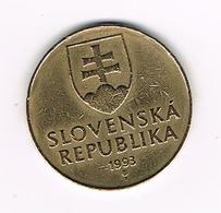 &-  SLOWAKIJE  10  KORUNA  1993 - Slovaquie