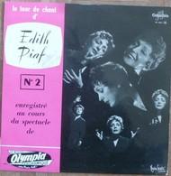 EDITH PIAF - 33T 25CM - LE TOUR DE CHANT D'EDITH PIAF N°2 (SIGNE PAR ROBERT CHAUVIGNY) - Vinyles