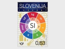 Slovenië / Slovenia - Postfris/MNH - SI Base Units 2019 - Slovenië