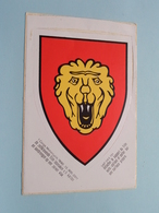 Zelfklever Sticker Autocollant : Totaal Totaal In Cm.+/- 16 X 11 ( Zie / Voir / See Photo  For Detail ) ! - Militaria
