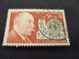 "70-79- Timbre Oblitéré N°  1669  "" Victor Grignard, Chimiste  ""   0.50 - Francia"