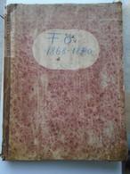 FO1868-Foaea Ordinciunilor Konsistoriului Episcopal- Trebile Skolarie Ale Diecesei BUKOWINA Bucovina  1869-1870 CERNAUTI - Livres, BD, Revues