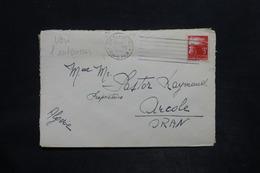 ITALIE - Enveloppe De San Remo Pour Alger En 1947 - L 25869 - 6. 1946-.. Repubblica