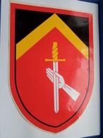 Zelfklever Sticker Autocollant : Totaal Totaal In Cm.+/- 26 X 18,5 ( Zie / Voir / See Photo  For Detail ) ! - Militaria