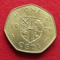 Ghana 1 Cedi 1979 KM# 19 Gana - Ghana