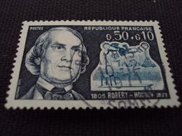 "70-79- Timbre Oblitéré N°  1690  "" Robert Houdin  ""   0.60 - France"