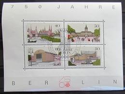 ALLEMAGNE - BERLIN                    B.F 8               1° JOUR - Blocks & Kleinbögen