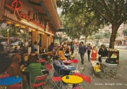 AK- Israel - Tel-Aviv - Rue Dizengoff - Menschen Im Cafe - 60iger - Israel