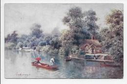 Ankerwyke - H.B. Wimbush - Tuck Oilette 7711 - Surrey