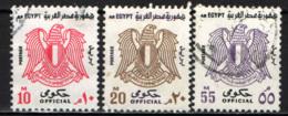EGITTO - 1972 - STEMMA CON AQUILA - VALORI IN MILLESIMI - USATI - Servizio