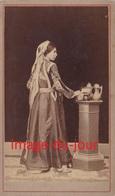 Photo Cdv   FEMME ORIENTALE  SYRIE ? LIBAN ? TURQUIE ? - Oud (voor 1900)