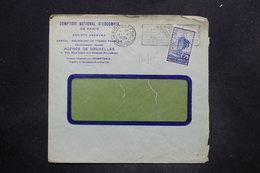 BELGIQUE - Perforé Sur Enveloppe Commerciale De Bruxelles En 1935 - L 25874 - 1934-51