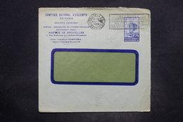 BELGIQUE - Perforé Sur Enveloppe Commerciale De Bruxelles En 1935 - L 25875 - 1934-51