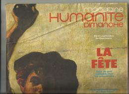 Humanité Dimanche : Plusieurs Pages Sur Johnny Hallyday - 1950 à Nos Jours