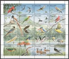 M452 MALAWI FAUNA BIRDS !!! MICHEL 50 EURO 1 BIG SH MNH - Otros