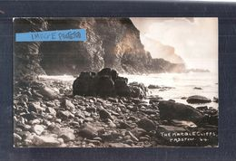 RP The Marble Cliffs Padstow No.64 E.C.Edyvane Of Padstow Cornwall Unused - England
