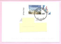 FRANCE 2017 - PARIS 2024 - 0,73 € Surchargé > 13/09/2017 Lima. Sur Lettre Avec Cachet à Date Du 02 Nov.2017. TB - Frankreich