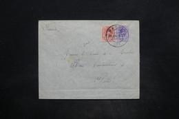 ESPAGNE - Enveloppe De Madrid Pour La France En 1910 , Affranchissement Bicolore - L 25879 - 1889-1931 Royaume: Alphonse XIII