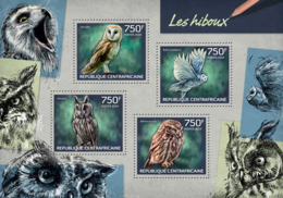 Central Africa  2014 Fauna Owls - República Centroafricana