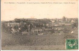 L35B110 - Chartres - Vue Générale - Le Lycée De Garçons, L'Usine à Gaz, ...- NG  N°1 - Chartres