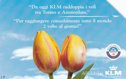 SCHEDA TELEFONICA  KLM  SCADENZA 30/06/1998 USATA - Italy