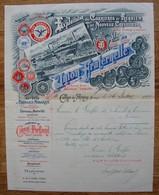 Calonne Lez Antoing . Tournai. Carrières De Requiem . Nouveau Crèvecoeur. 1894. - Belgique
