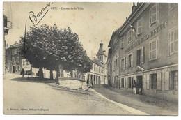 01-GEX-Centre De La Ville...GENDARMERIE...1911  Animé - Gex