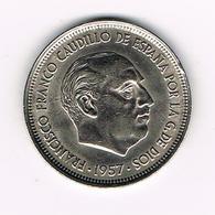 &-  SPANJE 50 PESETAS 1957 (59)  FRANCO - [ 5] 1949-… : Royaume