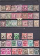 TAXE FRANCE - Lot De 40 Timbres Différentes Pour Début, Complément Collection Ou Nuances - A Voir - Taxes