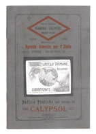 Meccanica - Brochure Calypsol Lubrificante - Cuscinetti Diamond - Anni '20 - Livres, BD, Revues