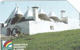 SCHEDA TELEFONICA  REGIONE PUGLIA ALBEROBELLO  SCADENZA 30/06/1998 USATA - Italy