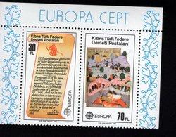740415245  POSTFRIS  MINT NEVER HINGED EINWANDFREI SCOTT 114A 114B EUROPA 1982 - Chypre (Turquie)