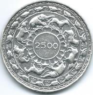 Ceylon - Elizabeth II - 1957 - 5 Rupees - 2500th Anniversary Of Buddhism - KM126 - Sri Lanka
