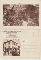LETTRE PUBLICITAIRE - HOTEL PENSION BEAU SÉJOUR - VENCE -  ÉCRITE EN 1964 - - Dépliants Touristiques