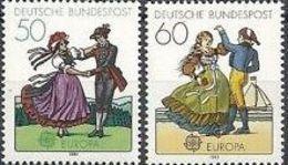1981 - Germania 928/29 Costumi - Costumi