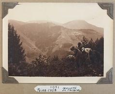 Peira-Cava. Cueuillette Des Framboises. Montagne. 1931. - Places